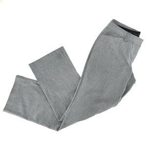 Express Editor Straight Leg Dress Pants Sz 8R Gray